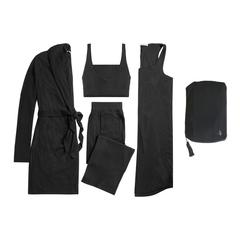 4-Piece Travel Set with Zip Bag