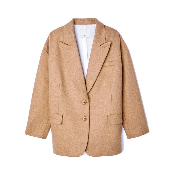 Tibi Liam Flannel Tuxedo Jacket