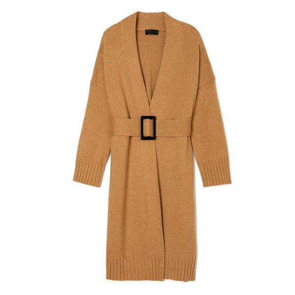 Nili Lotan Allana Belted Cardigan Sweater-Coat