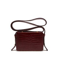 Maya Embossed-Leather Bag