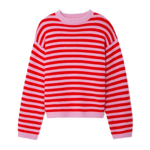 Sofie D'Hoore Maravilla Fine Cashmere Striped Sweater