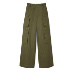 Dmitri Wide-Leg Cargo Pants