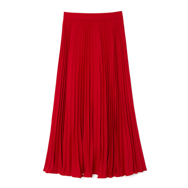 Co Japanese Crepe Pleated Skirt