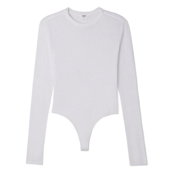 RE/DONE Long-Sleeve Bodysuit