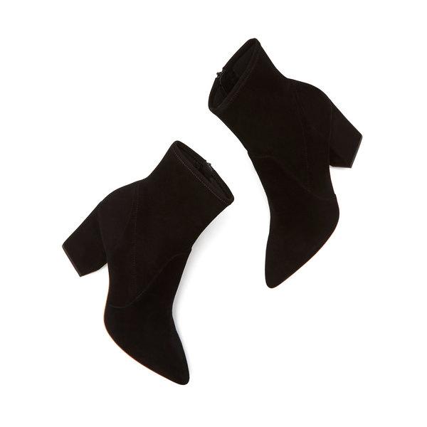 Loeffler Randall Isla Stretch-Suede Ankle Booties