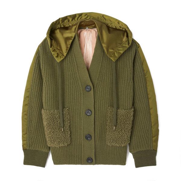No. 21 Sweater Bomber Jacket
