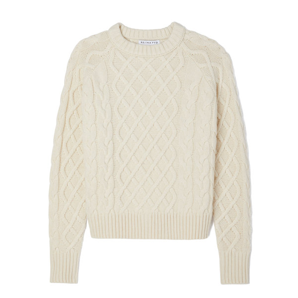 Rejina Pyo Leah Cable-Knit Sweater