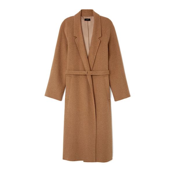 Joseph Solferino Camel Hair Trench Coat