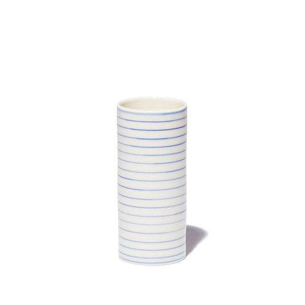 ANNE BLACK  Stripe Narrow Vase, Medium