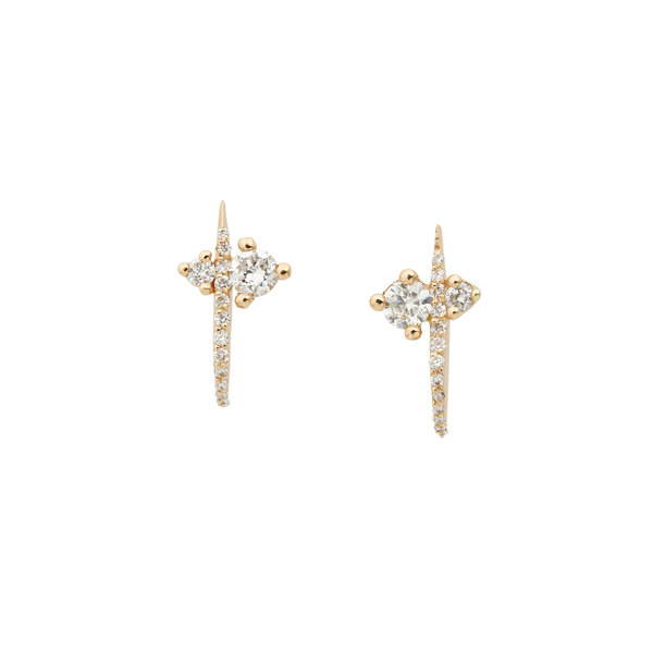 Sophie Ratner Hooked Pave Studs