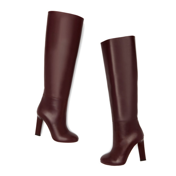 Victoria Beckham Rise Knee-High Leather Boots