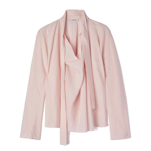 Lemaire Long-Sleeve Top With Tie