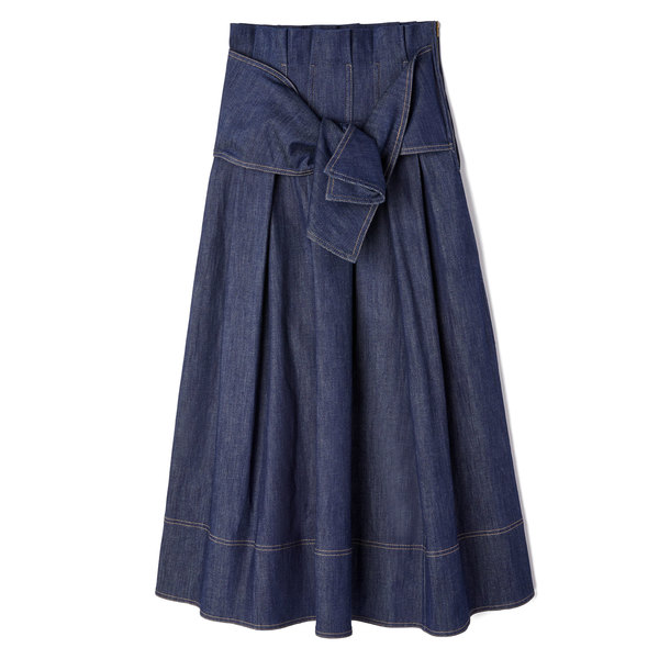 Ulla Johnson Virgil Denim Skirt