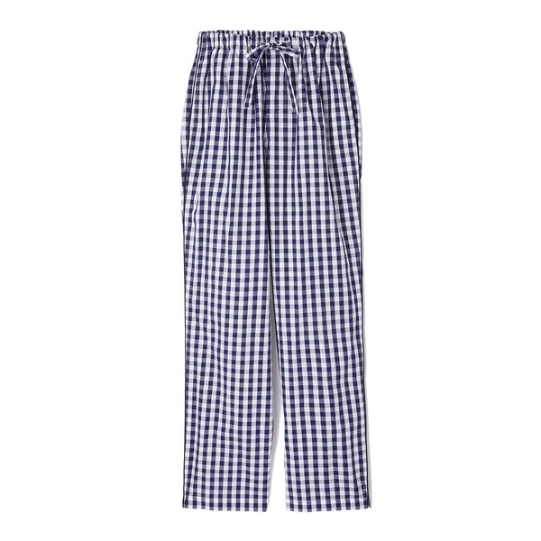 Sleepy Jones Marina Gingham Cotton Pajama Pants
