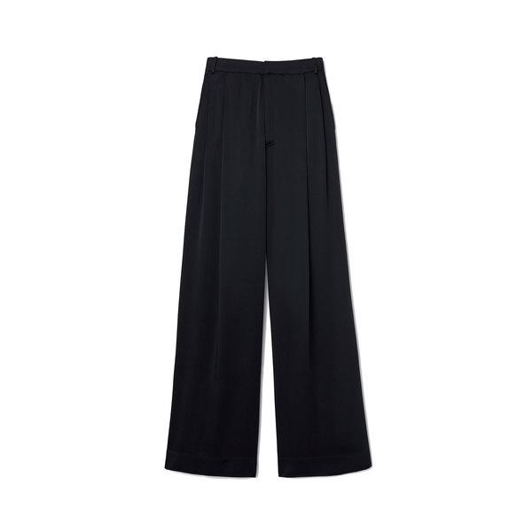 G. Label Kelly Satin Wide-Leg Trousers