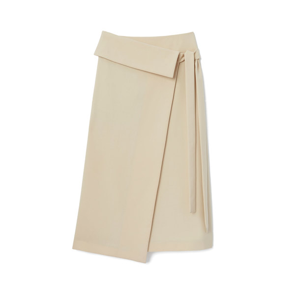 Joseph Finch-Wool Stretch Skirt
