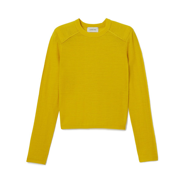 Lemaire Padded Shoulder Sweater