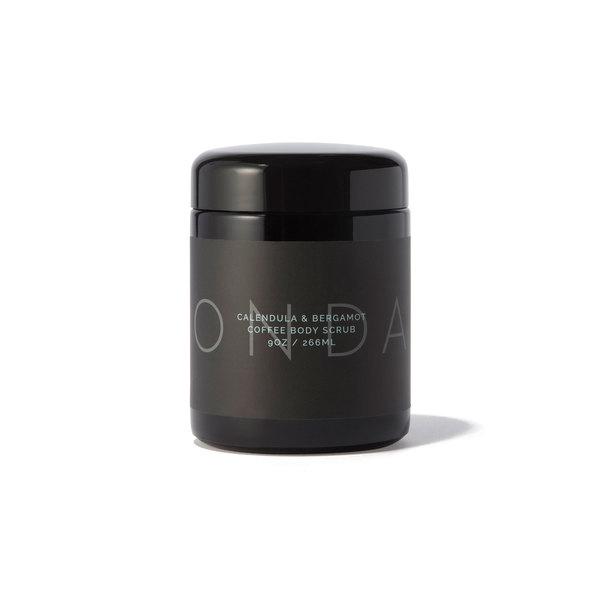 ONDA Beauty Calendula + Bergamot Coffee Body Scrub