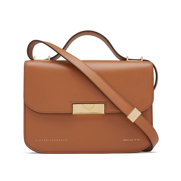 Victoria Beckham Camel Eva Leather Bag