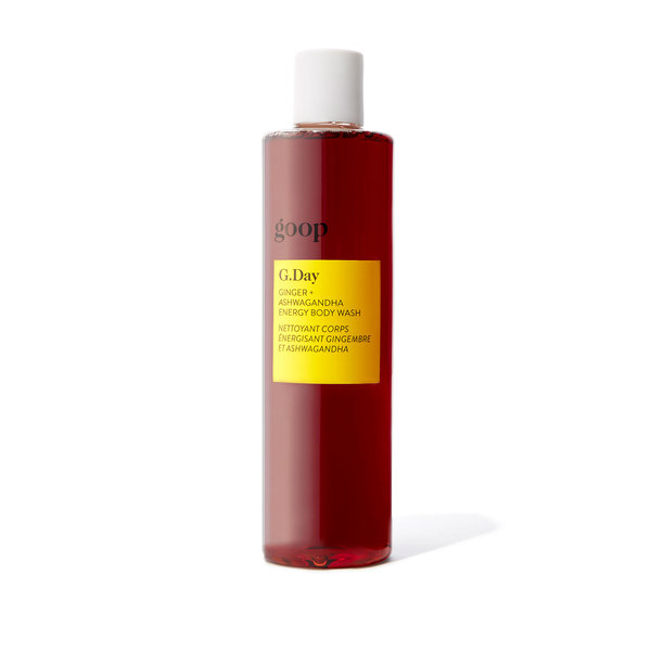 goop Beauty G.Day Ginger + Ashwagandha Energy Body Wash