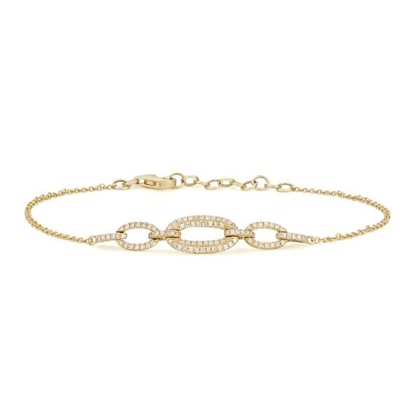 Anne Sisteron  Three Link Chain Bracelet