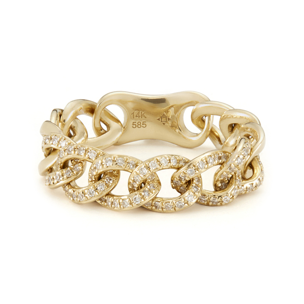 ANNE SISTERON Chain Link Light Ring