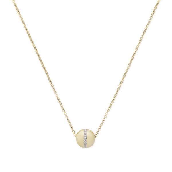 Anne Sisteron  Golden Globe Necklace