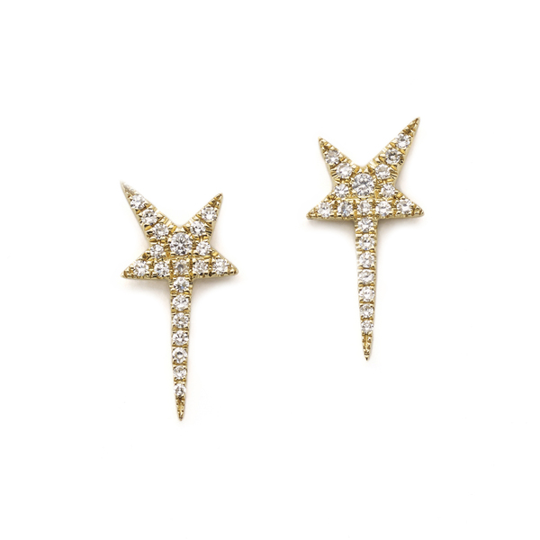 Anne Sisteron  Star Wand Earrings