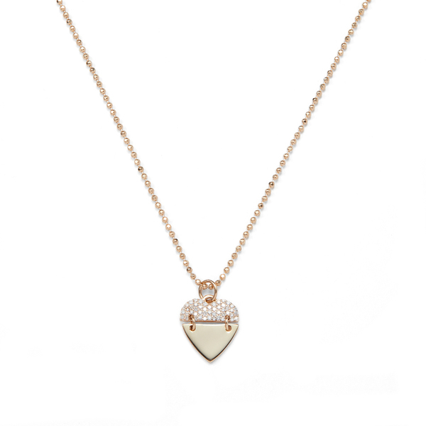 Sophie Ratner Heart Pendant Necklace