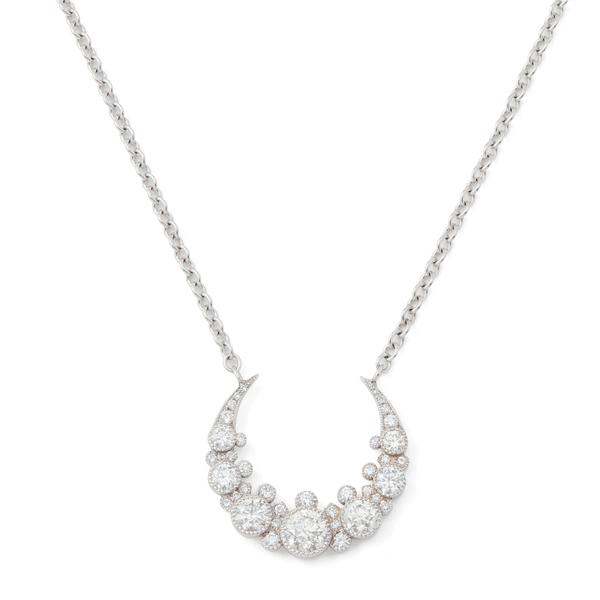 Colette Jewelry Moon Diamond Necklace