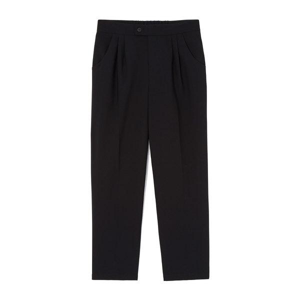goop x Universal Standard Wool Cropped Trousers