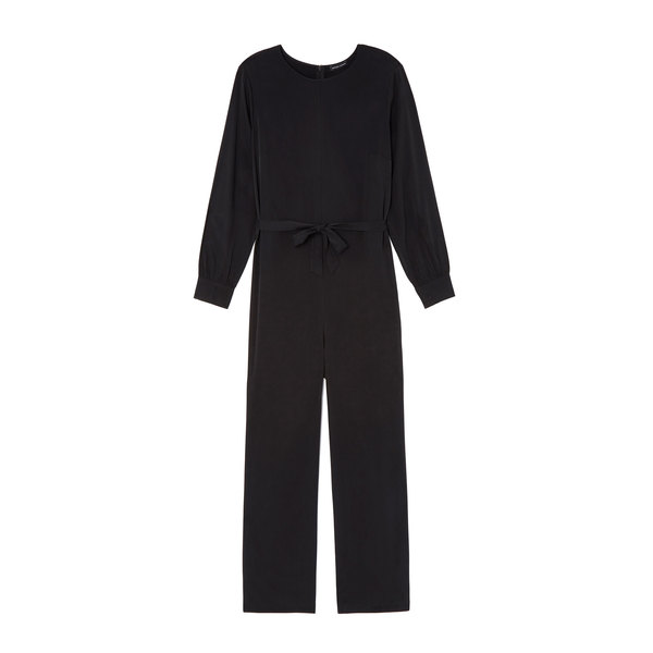 goop x Universal Standard Brushed-Back Jumpsuit