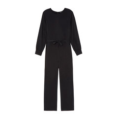 Brushed-Back Jumpsuit