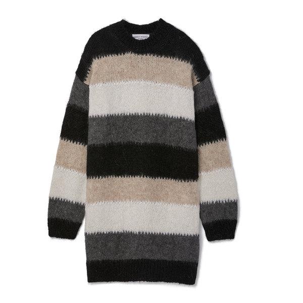 Sonia Rykiel Mother's Mohair Stripe Sweater