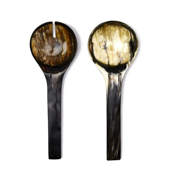 Rose & Fitzgerald Ankole Horn Serving Spoon Set