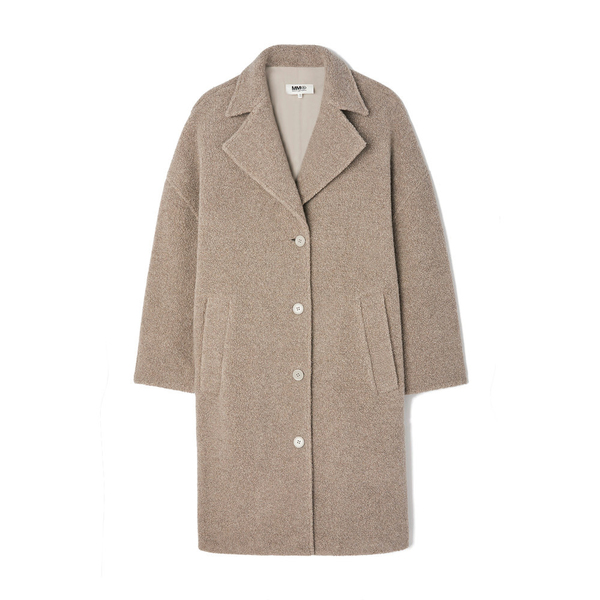 MM6 Wool-Blend Coat