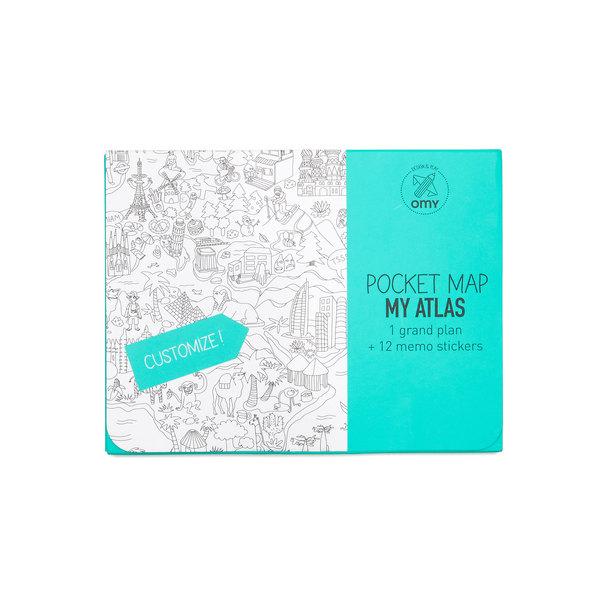 OMY My Atlas Pocket Map