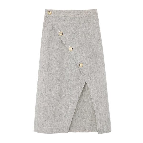 Fabiana Pigna Vero Cotton Wrap Skirt