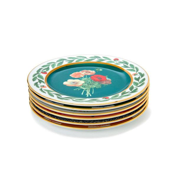 La DoubleJ Dessert Plates, Set of 6