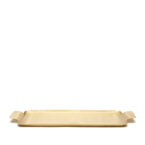 Puebco  Brass Rectangular Tray