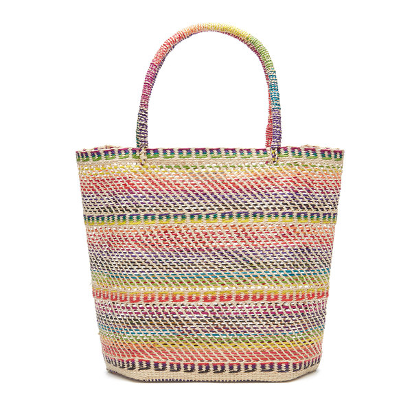 Sensi Studio Multicolor Basket Tote