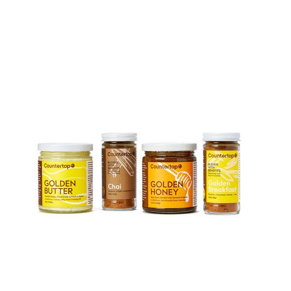 goop x Countertop Foods goop-Exclusive Golden Breakfast Gift Set