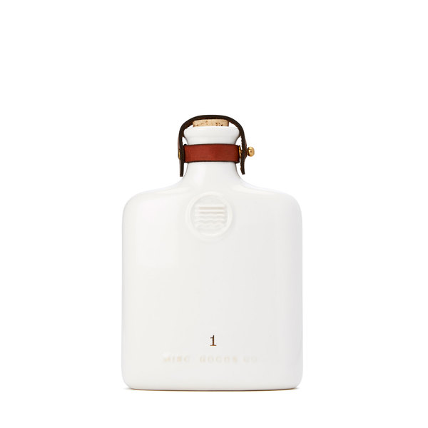 Misc. Goods Co. Ivory Ceramic Flask