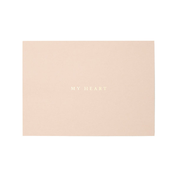 "Alissa Bell ""My Heart"" Greeting Card"