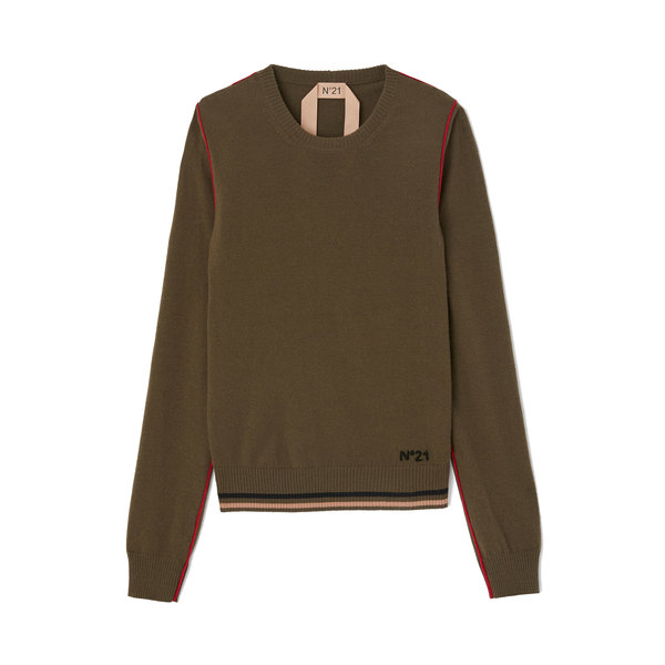 No. 21 Military Green Sweater