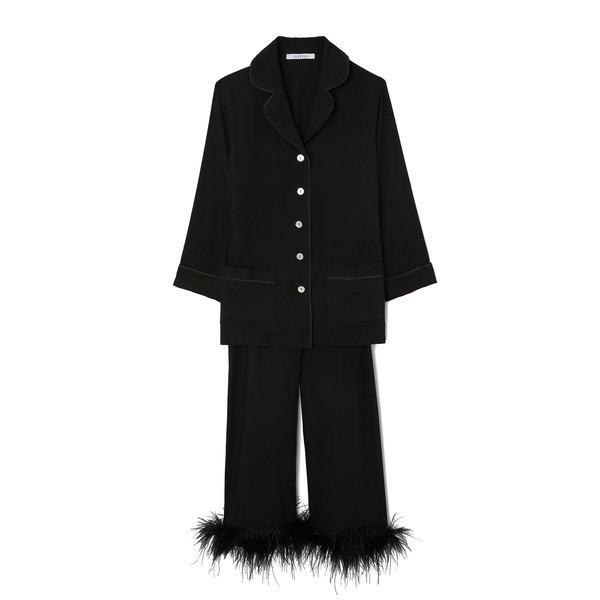 Sleeper Black Pajama Suit