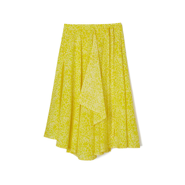 LEMAIRE Long Umbrella Cotton Wrap Skirt