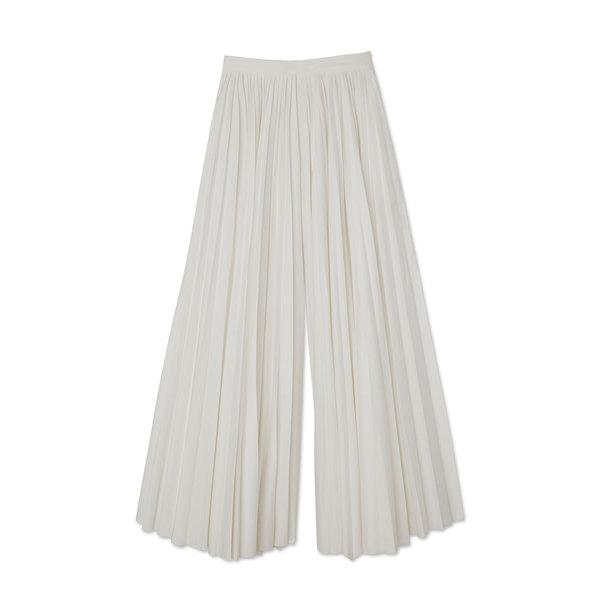 Khaite Keira Pleated Cotton Pants