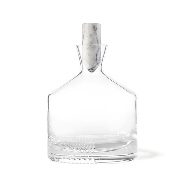 Nude Glass  Alba Whiskey Bottle