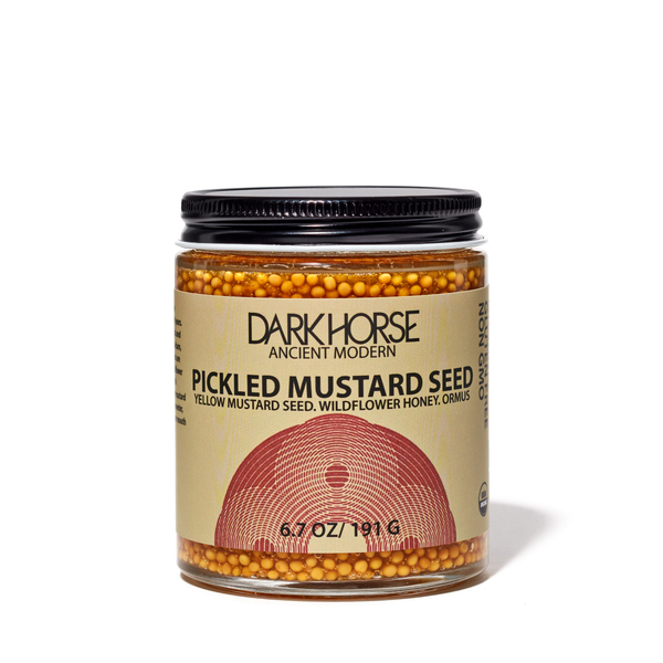 Dark Horse Organic Pickled Mustard Seed